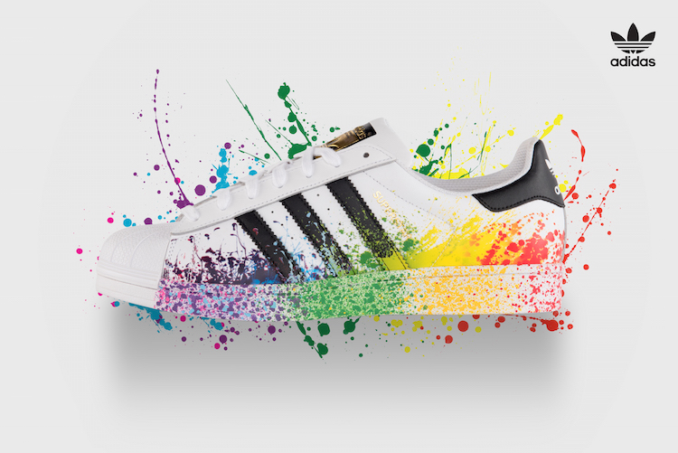 superstar adidas splash